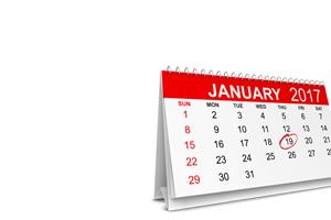 calendar showing common rule compliance date